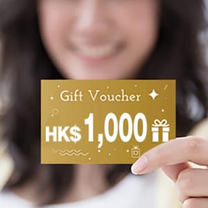 Online application exclusive offer up to HKD1,000 cash coupon.