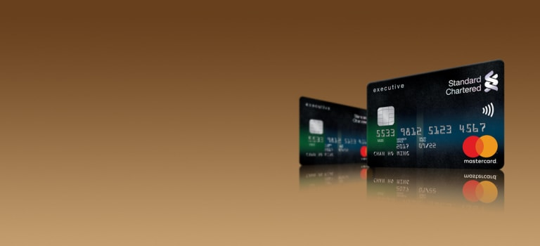 Standard Chartered executive Credit Card