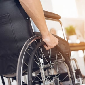 Mobility aids and home modification benefit.