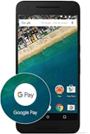 Google Pay icon on mobile device