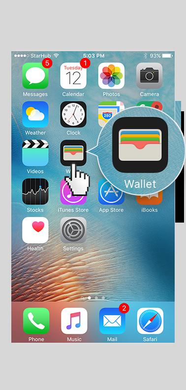 iPhone Wallet app