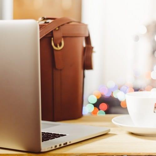 Hk digital mobile computer bag coffee