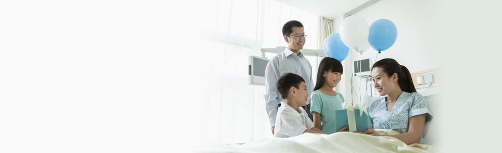 SCB Hospital Income Insurance provide daily cash benefits.
