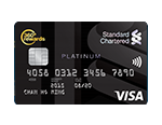 Standard Chartered Platinum Visa Card