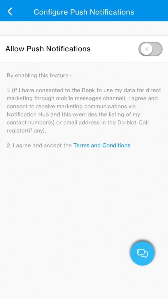 scb push notification manage step 3