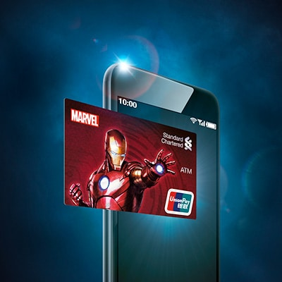 Hk promo marvel atm designated privilege