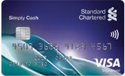 Simply Cash VISA卡的卡面