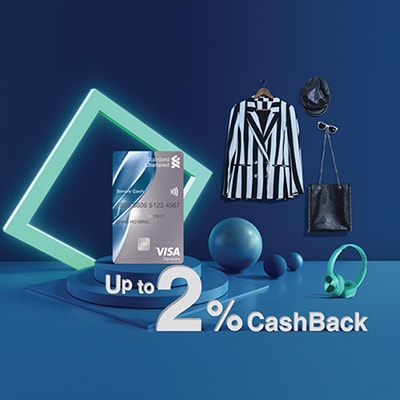 Simply Cash Visa card offer: Up to 2% cashback.