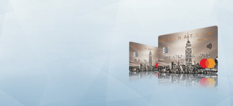 MANHATTAN Titanium Credit Card