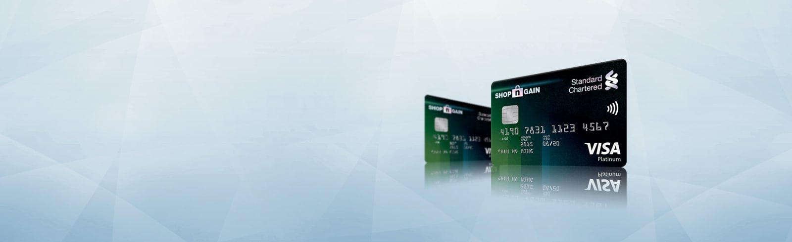 Standard Chartered SHOP'n GAIN Platinum Credit Card