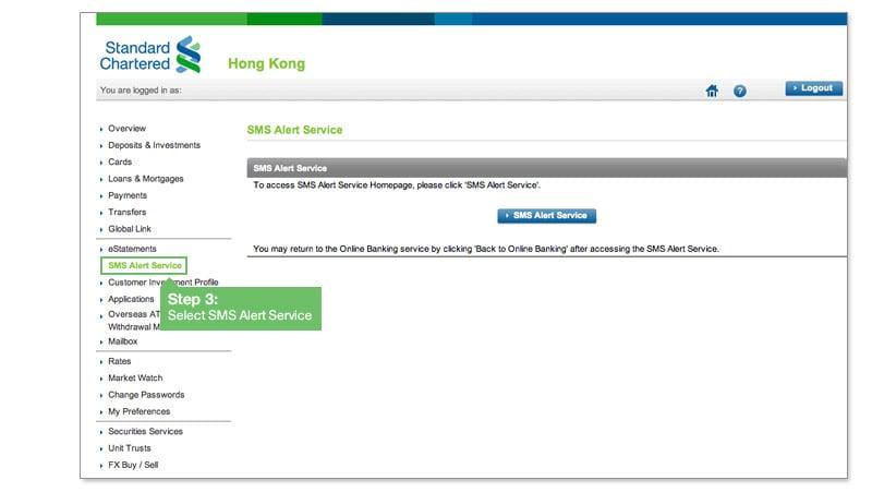Select SMS Alert Service