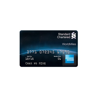 Standard Chartered WorldMiles Card