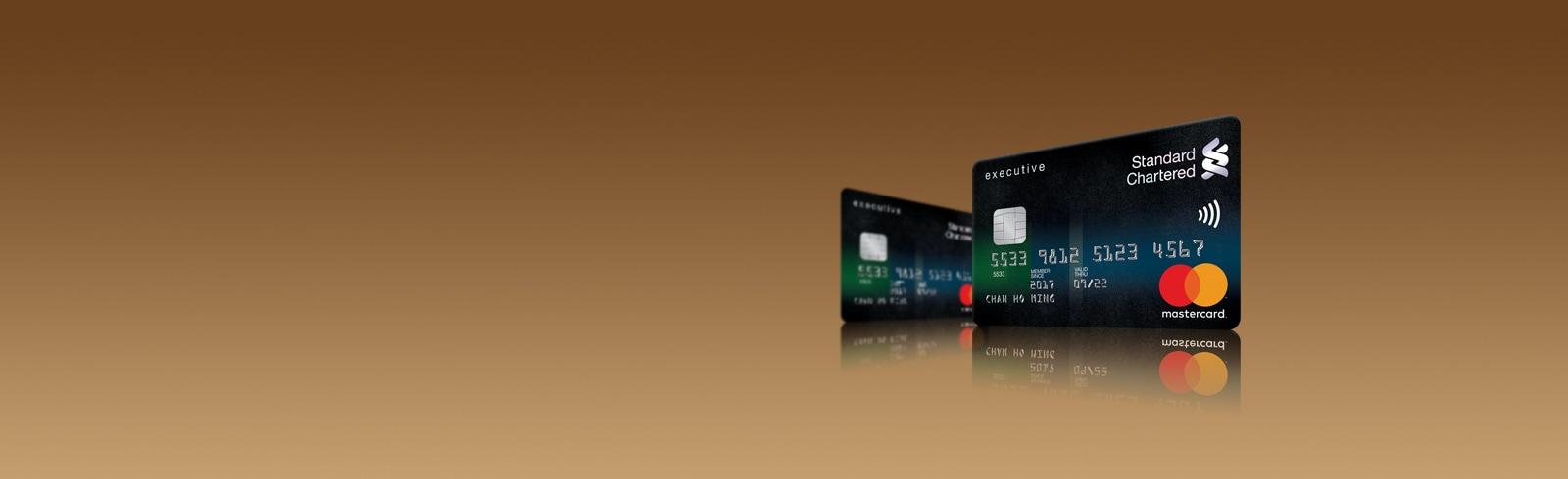 Creditcard banner executive