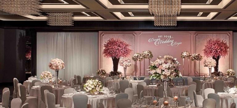 香港JW萬豪酒店婚宴及商務宴會 尊享高達HK$10,000餐飲禮品卡