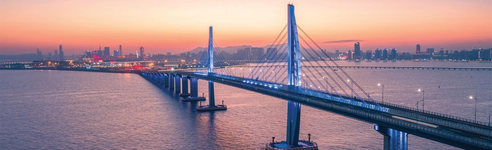 Building, Bridge, Metropolis