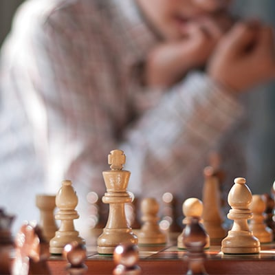 Hk investment tile chess banner