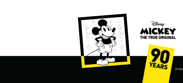 Mickeys th birthday promo page banner x sep