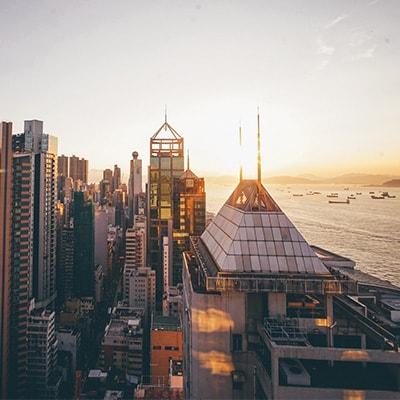 密集的高樓大廈