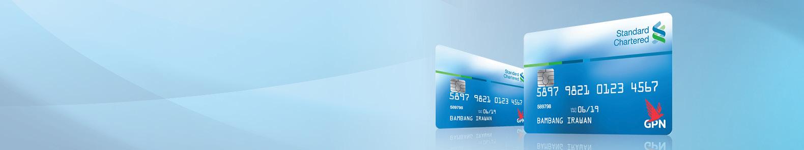 standard chartered npg debit card