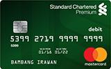 Kartu Debet Premium Standard Chartered Bank