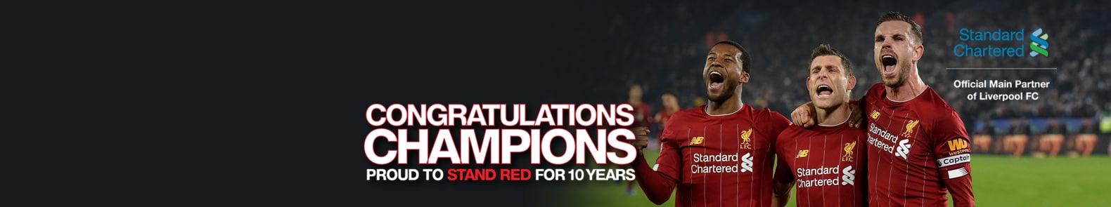 Congratulations Champions