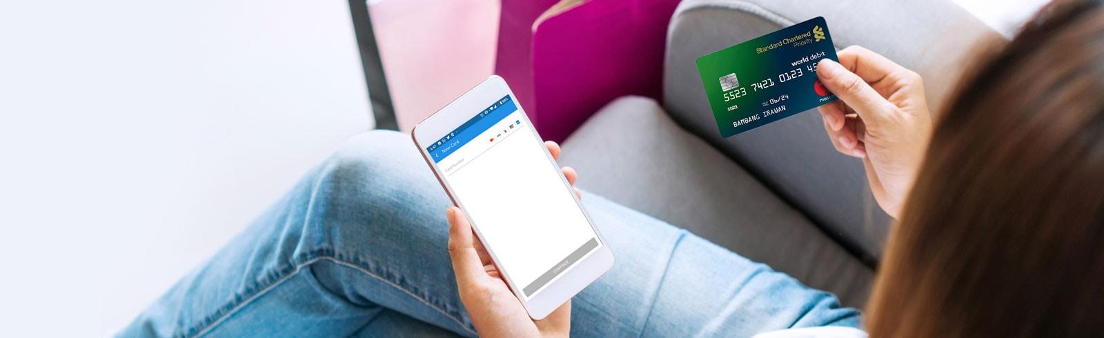 Promo Voucher DANA X Kartu Debit Standard Chartered
