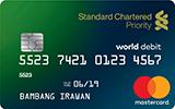 Priority Standard Chartered Debit Card