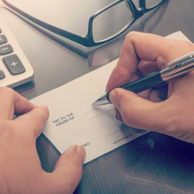 Free cheque book