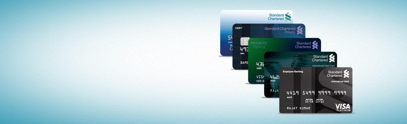 Debit Card PIN – Standard Chartered India
