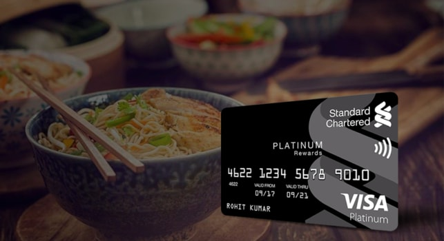 Platinum Rewards credit card