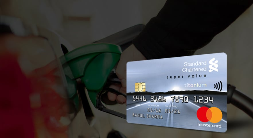 Super Value Titanium credit card