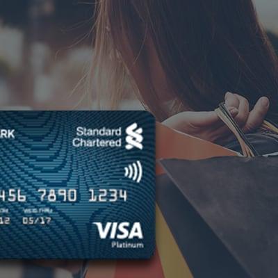 Credit cards standard chartered india landmark rewards platinum reheart Images