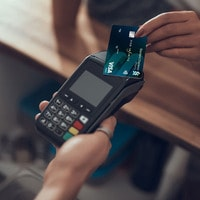 wave your card on the card reader at close range
