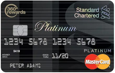 Master Platinum Credit Card