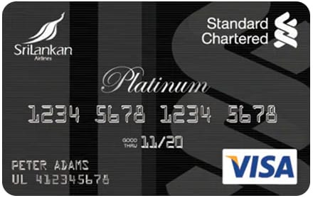SriLankan Airlines Standard Chartered Platinum Card