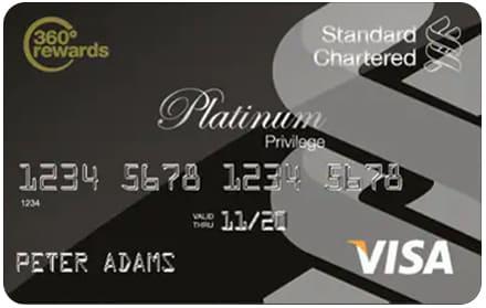 VISA Platinum Privilege Credit Card