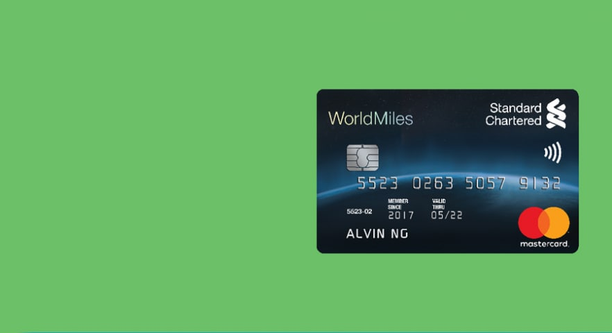 Spend and get acquisition standard chartered malaysia worldmiles world mastercard reheart Image collections