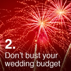 Don't Bust Your Wedding Budget
