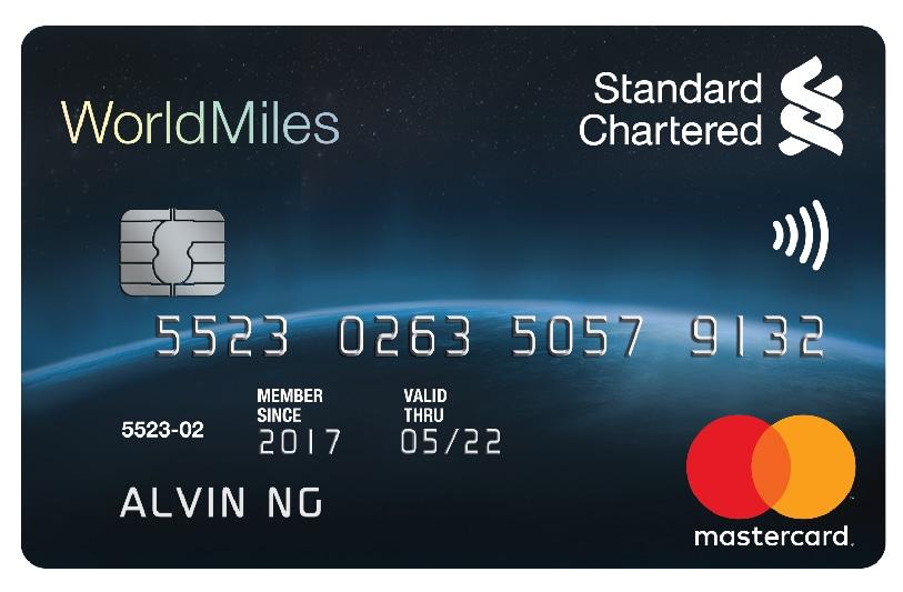 WORLDMILES WORLD MASTERCARD® CREDIT CARD