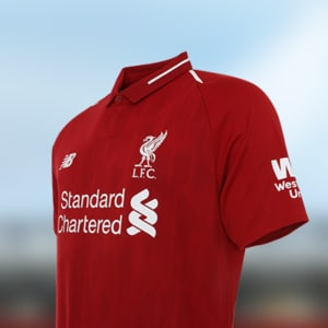 Apply and receive LFC Home Shirt 18/19