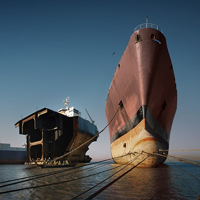 Making it safer to turn ships into buildings