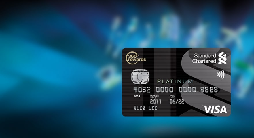 Visa platinum promo banner mobile