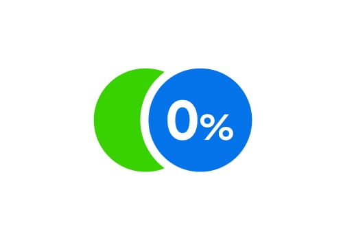 Inform the store to convert to 0% instalment payment plan