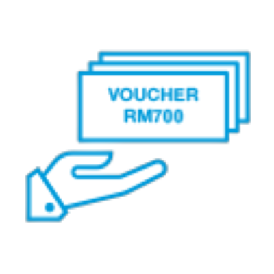Stand a chance to receive GrabFood or Lazada e-Vouchers worth up to RM700