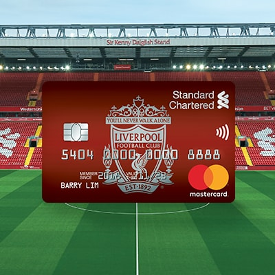 Spend with your Liverpool FC debit card and stand to win a trip to watch Liverpool FC play at Anfield.