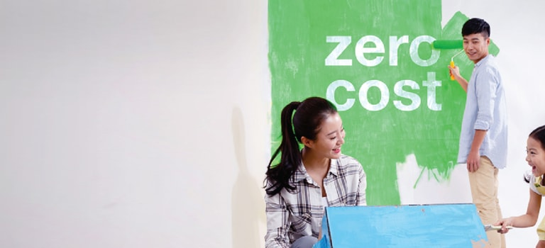 Enjoy zero moving cost when you refinance your property with Standard Chartered MortgageOne