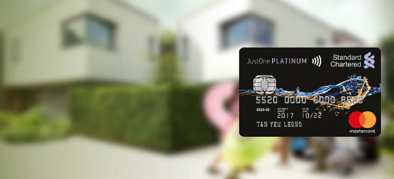 My promotion acquisition justone platinum mastercard credit card x y