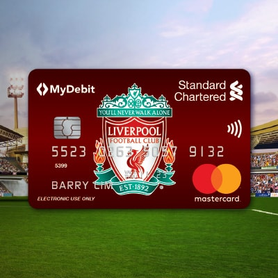 Liverpool FC debit card