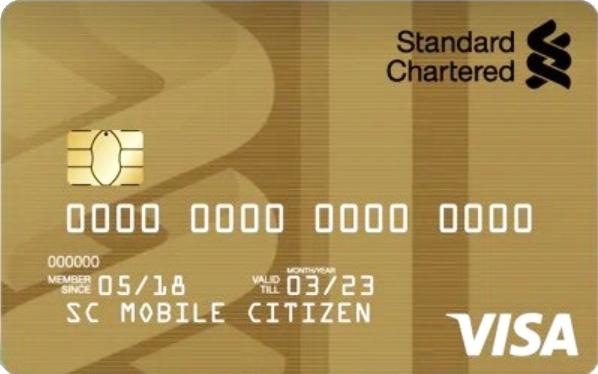Visa Gold Credit Card