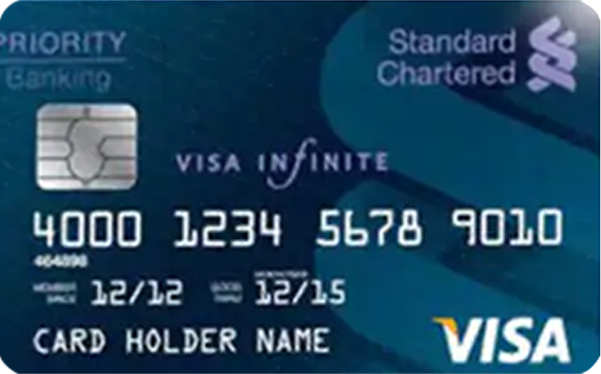 VISA INFINITE DEBIT CARD